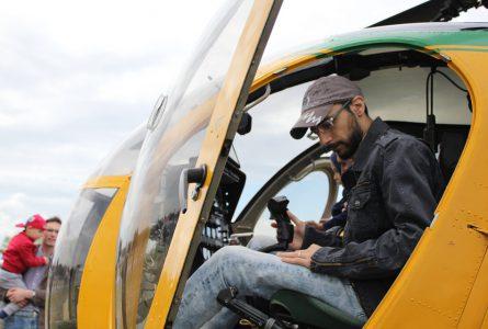 Att manövrera en helikopter